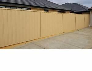 Coolorbond / Aluminium Slat Fence Armadale Armadale Area Preview