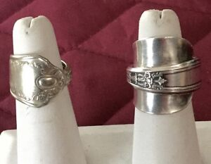 RINGS and PENDANTS from SILVERWARE