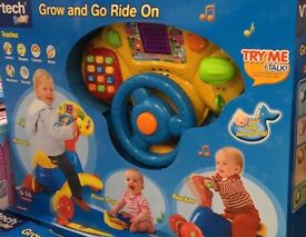 VTECH go and grow ride on 3 in 1 brand new sealed boxed