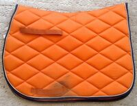 SADDLE PADS, FLEECE SHOW PAD, GEL PAD with COVER