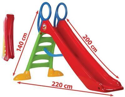 Rutsche Kinderrutsche mit Wasseranschluss MEGA groß 200cm Rutschbahn (EU Ware)