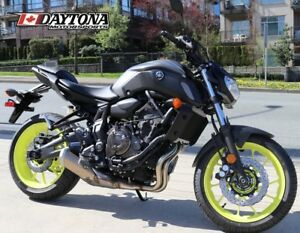 2018 Yamaha MT-07 Matte Metallic Gray