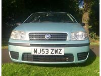 FIAT PUNTO ACTIVE 2003 ONLY 62K & 3 OWNERS GOOD DRIVE