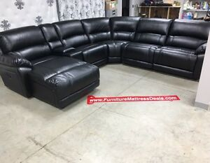 New leather/fabric living room sets ranging$1400-$3300
