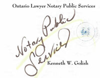 Notary Services from Windsor Lawyer
