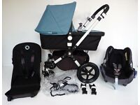 LIKE NEW!! Bugaboo CAMELEON 3rd generation. Complete with Maxi Cosi Car seat + adapters