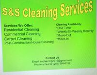 S&S Cleaning Services Available, Call Us