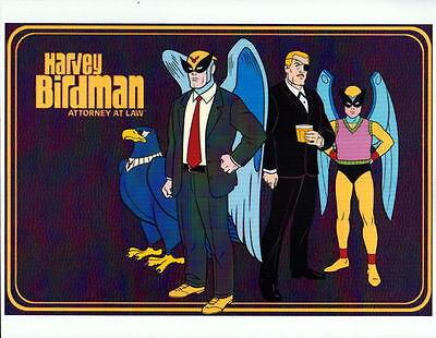 HARVEY BIRDMAN - ATTORNEY At LAW w GANG PRINT Hanna Barbera