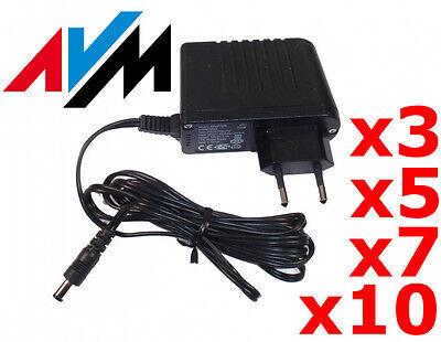 ►► 12V 1A Netzteil AVM ◄◄ Trafo Netzadapter AC Adapter für RGB LED Strip CCTV ! Cctv Teile