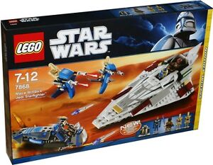 LEGO Star Wars 7868 MACE WINDU'S JEDI STARFIGHTER New / Sealed
