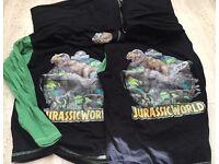 Twins pyjamas Jurassic park dinosaurs kids sleepwear 9-10 years