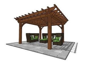 Gorgeous Pergola,Pavilion,Gazebo Kit FY Outdoor Space  Belleville Belleville Area image 4