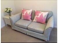 Marks and spencer duck egg sofa £50
