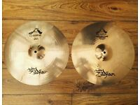 "Zildjian 16"" A Custom & Projection Crash Cymbals"