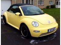 VW beetle 2005 1.6 petrol low mileage FSH