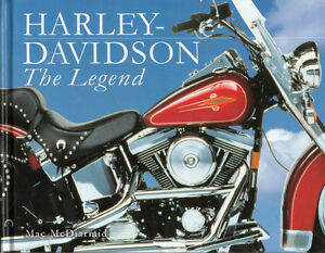 HARLEY-DAVIDSON: THE LEGEND - Mac McDiarmid – Panheads  Softails