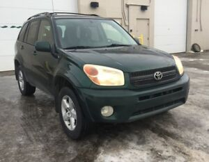 2004 Toyota RAV4 4WD/ 6 months warranty included.