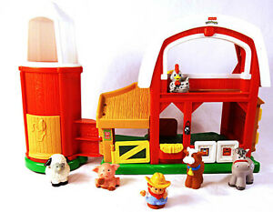 Ferme sonore avec silo Little People Fisher-Price