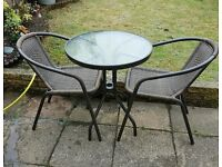Brand new unopened table / garden table for sale ( table only)