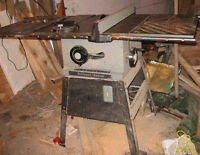 Table Saw..Spring is coming ..time to get back to work!!!
