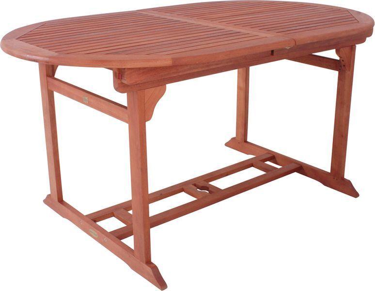 KMH® Teak Gartentisch ausziehbar 170 - 230 cm