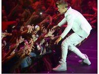 Justin Bieber tickets o2 arena
