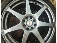 "17"" alloys 4x110/ 4x110 multifitment renault. Ford. Vauxhall. Mini"
