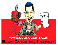 Party Artist- Live Event Caricatures!