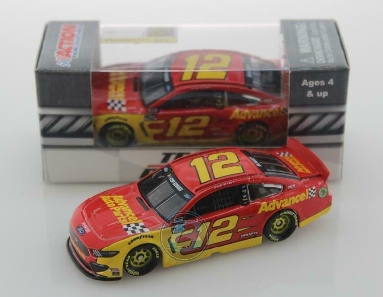 Car Parts - NEW NASCAR 2020 RYAN BLANEY #12 ADVANCE AUTO PARTS 1/64 CAR