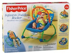Fisher Price Infant To Toddler Rocker - Used But Washed