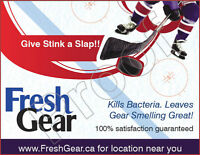 DOES YOUR HOCKEY GEAR STINK!!!