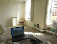 Sunny 1 bedroom, downtown sublet, Sep 1