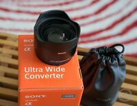 Sony FE (21mm) Ultra Wide Converter for FE 28mm