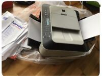 Cannon printer with fax scan copy