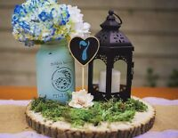 Beautiful rustic wedding decor rental for brides on a budget