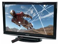 """Panasonic 42"""" inch TV Full HD 1080p 400Hz with Freeview built in, 3 x HDMI not 32, 37 40"""