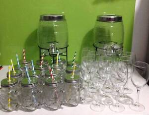 Baby Shower High Tea Hens Night Party Drink-ware Hire Package Canning Vale Canning Area Preview