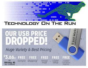 USB Flash Drive Memory Keys