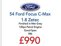 Arriving Friday - Ford Focus C-Max 1.8 Zetec !!!!!