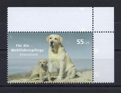 Bund Mi-Nr 2632 (55+25 ct) Ecke 2 Für die Wohlfahrt ** Postfrisch 2007