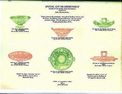 Bartlett Collins Co  Glass Catalog Reprint  Ca 1929
