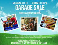 Garage Sale and Free Familiy Festival