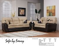 BRAND NEW CANADIAN MADE 3 PC SOFA SET ON SALE (4 COLOUR CHOICES)