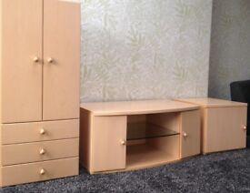 ONO Dansk Solid Wood Living Furniture - TV unit - Draws - Drinks Cabinet