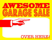 Garage/Moving Sale NEW & USED items