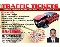 Traffic Tickets Paralegal (Milton,Oakville,Burlington)