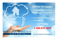 Private 1st & 2nd Mortgage - Instant Approvals - Close in 3 Days