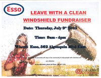 Leave With a Clean Windshield Fundraiser