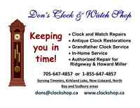 Don's Clock and Watch Repairs