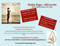 Hatha Yoga - All Levels